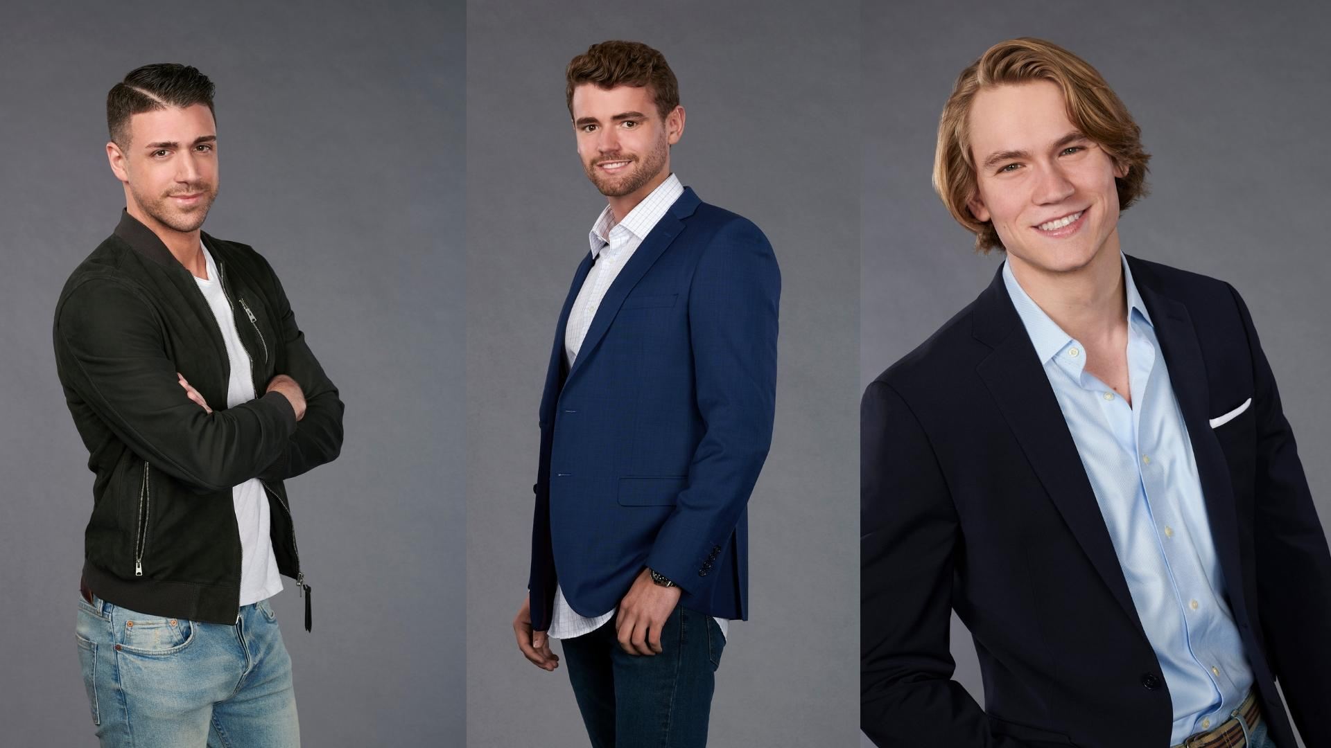We've already introduced you to the 30 handsome gents who will be vying for Hannah's heart this season, but for the first time ever, we get to cheer on not one, but THREE local guys on Hannah's season. So without further ado... (Images: ABC/Ed Herrera)