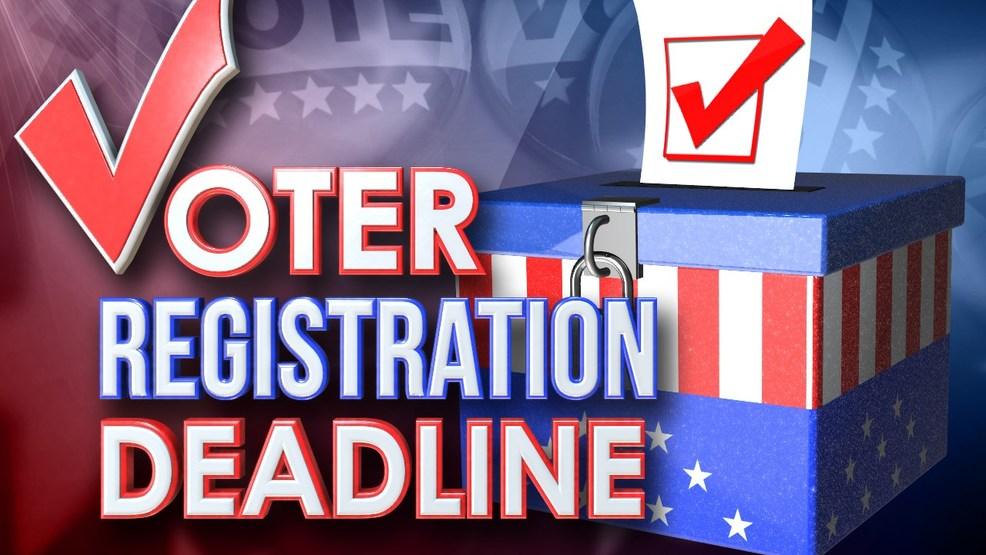 Voter Registering Deadline is July 3rd