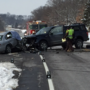 Officials say one man died in South Bend crash