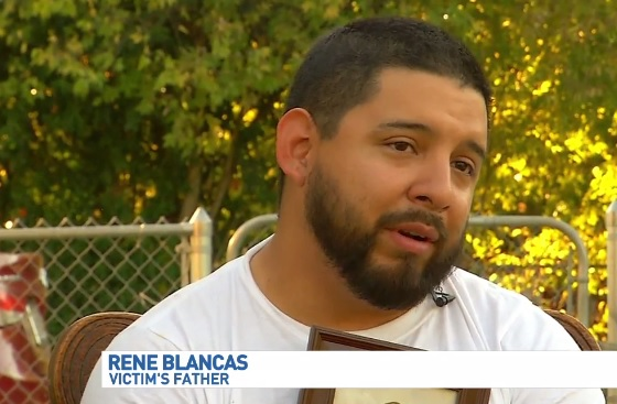 "Police are looking for the person who shot and killed a 3-year-old boy on the Southwest Side. ""Instead of planning my son's birthday, I have to plan his funeral,"" says Rene Blancas. Just two days from his son Rene Regino Blancas Junior's 4th birthday, the local father is now grieving and holding his son's picture tight in his arms."