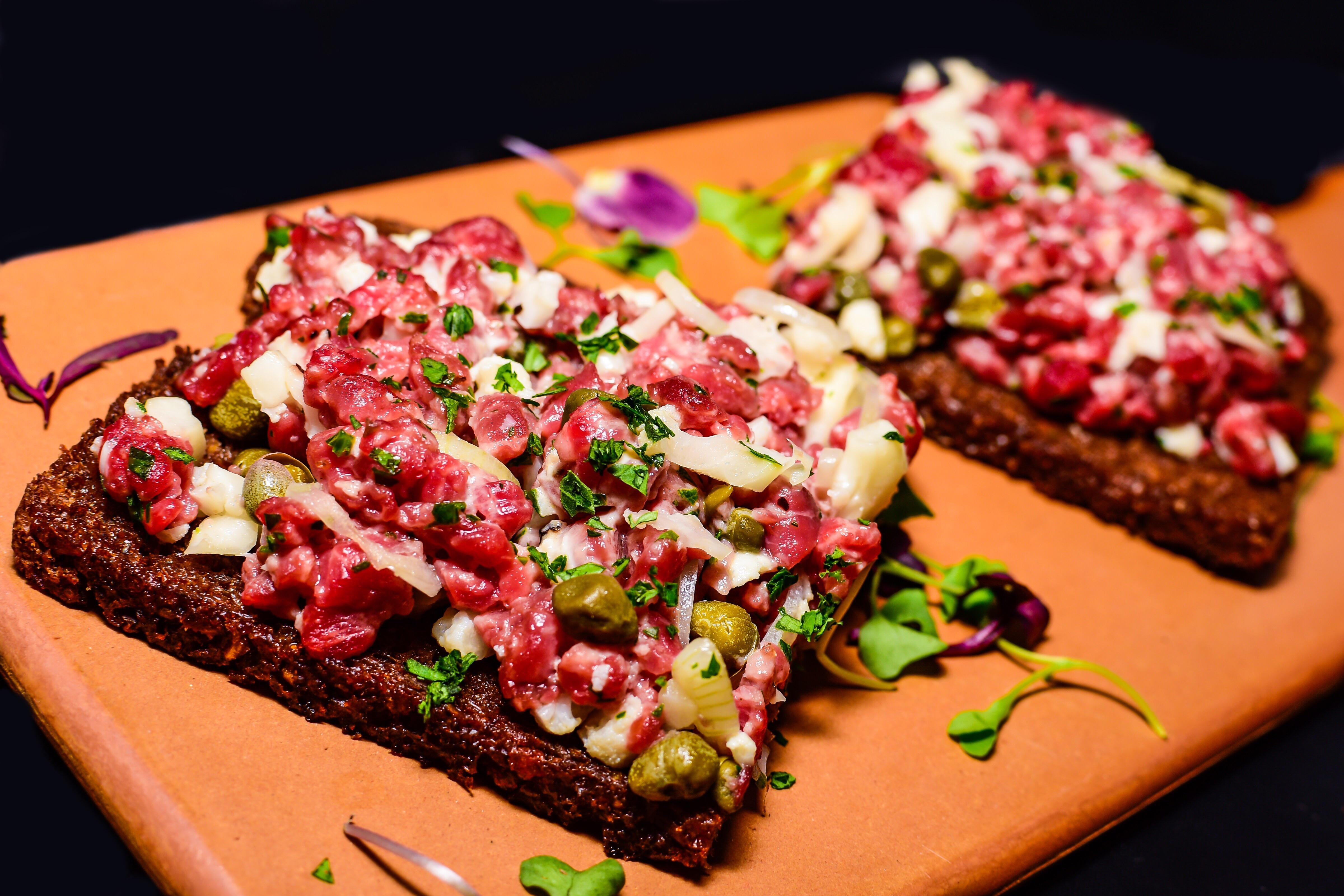 Steak tartare at Baba in Clarendon.{ }(Image: Christopher Milinauskas)