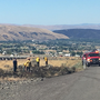 Selah firefighters extinguish four small brush fires near interstate