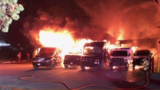 Fire at Maryland UPS center destroys 10 packaging trucks and a number of holiday presents