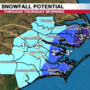 Winter weather brings surprising snow totals across ENC