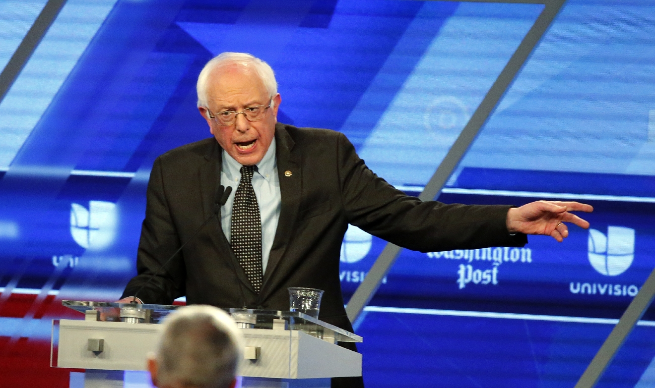 TheSuit: Was Bernie Sanders' debate outfit black, blue or brown ...