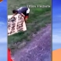 Man destroys racist sign at neighbor's home