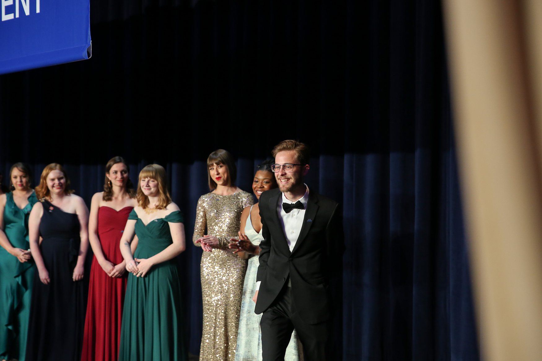 Student journalists being honored by the White House Correspondents' Association. (Amanda Andrade-Rhoades/DC Refined)