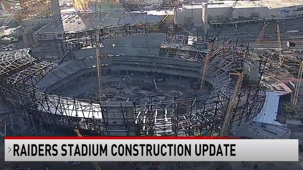 Raiders Stadium structure now '47-percent complete' says rep