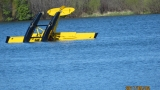Pilot rescued after plane crashes into Cedar Lake