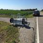Tuscola County speed trailer damaged