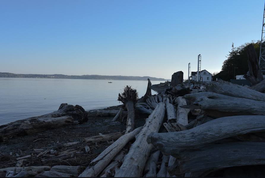 Thrillist names Vashon Island one of the 16 'Best Islands in America for a Summer Vacation this year' list (Image: Rebecca Mongrain).
