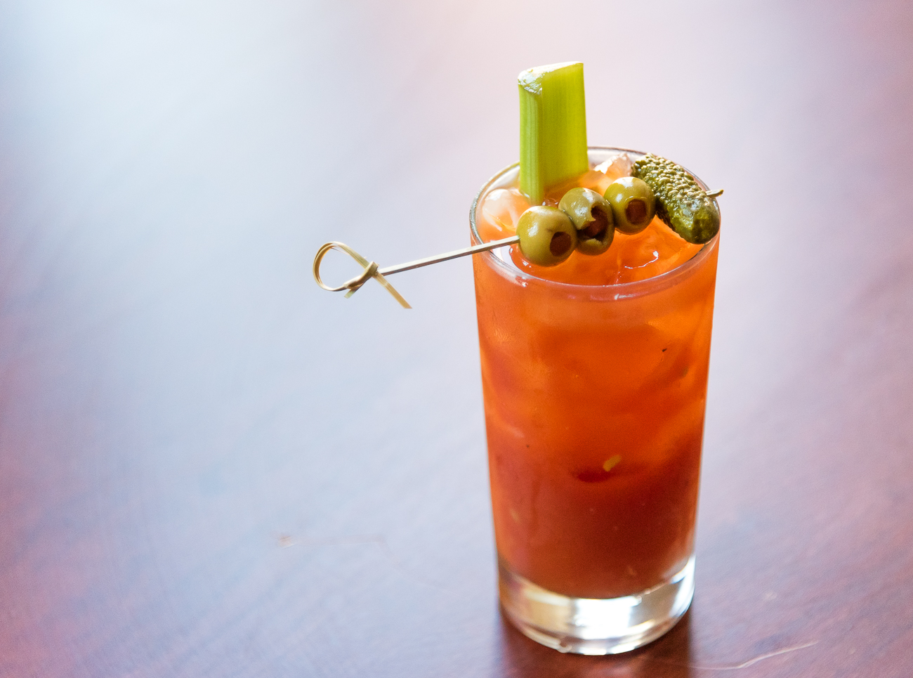 Bloody Mary with horseradish vodka and house-made bloody mix / Image: Phil Armstrong, Cincinnati Refined // Published: 7.16.17
