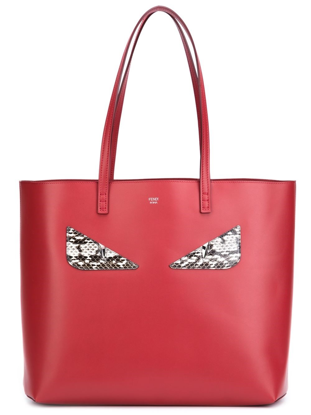Don't try and pretend that you don't want a bag to match those shoes! Fendi Bug Tote, $1,850, husonline.com (Image: Courtesy Hu's Shoes)