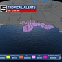 Mobile & Baldwin counties under a Tropical Storm Watch