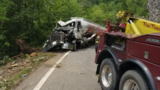 UPDATE: 1 lane of Hwy 64 reopened after tanker truck removed from Ocoee River Wednesday