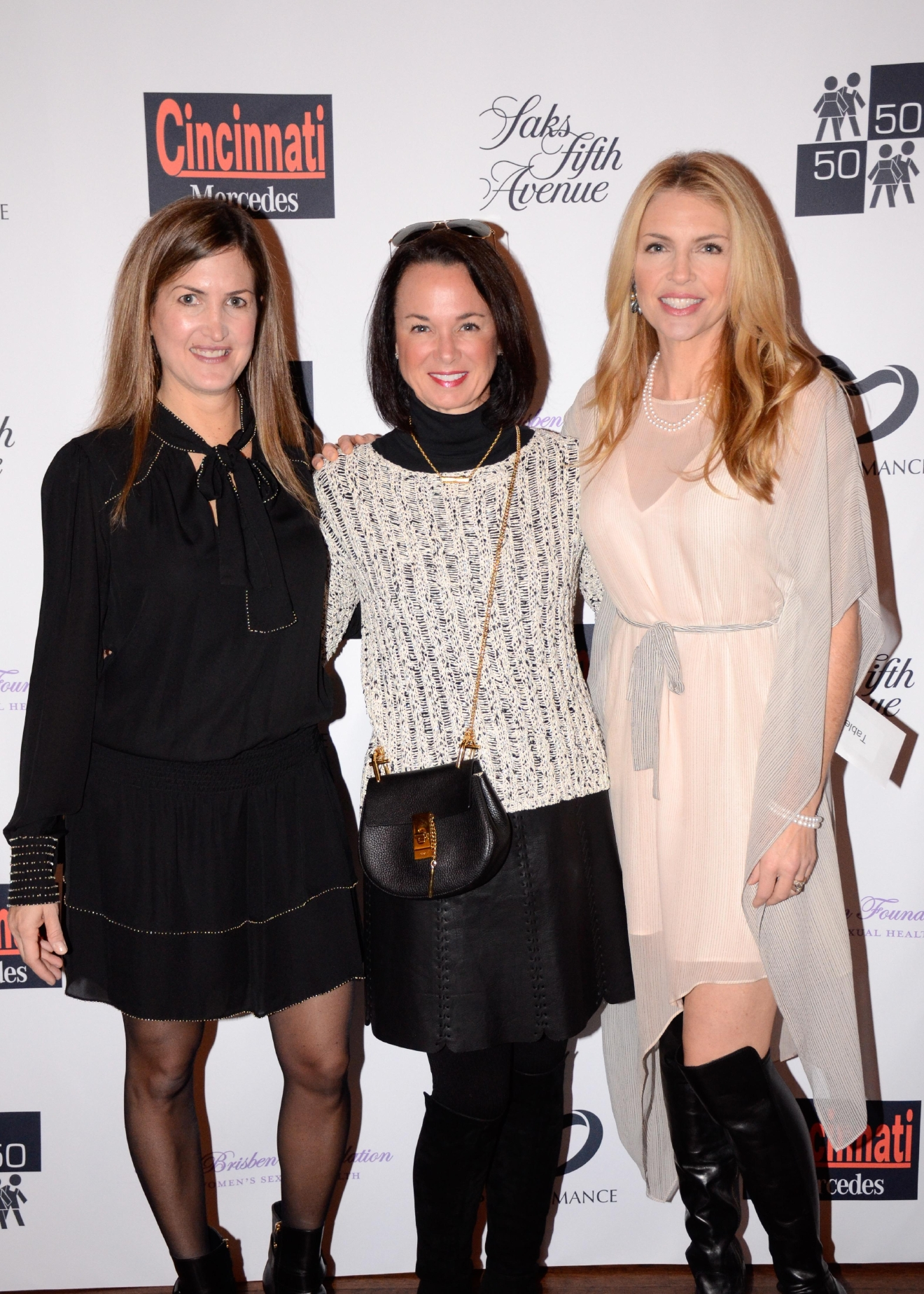 Allison Kahn, Toni Nevins, and Cecily Harness / Image: Bob White