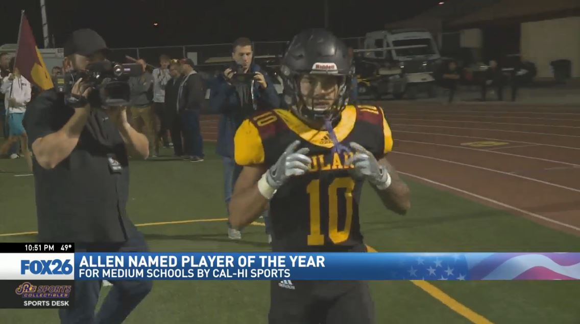Tulare Union football star heading to UCLA