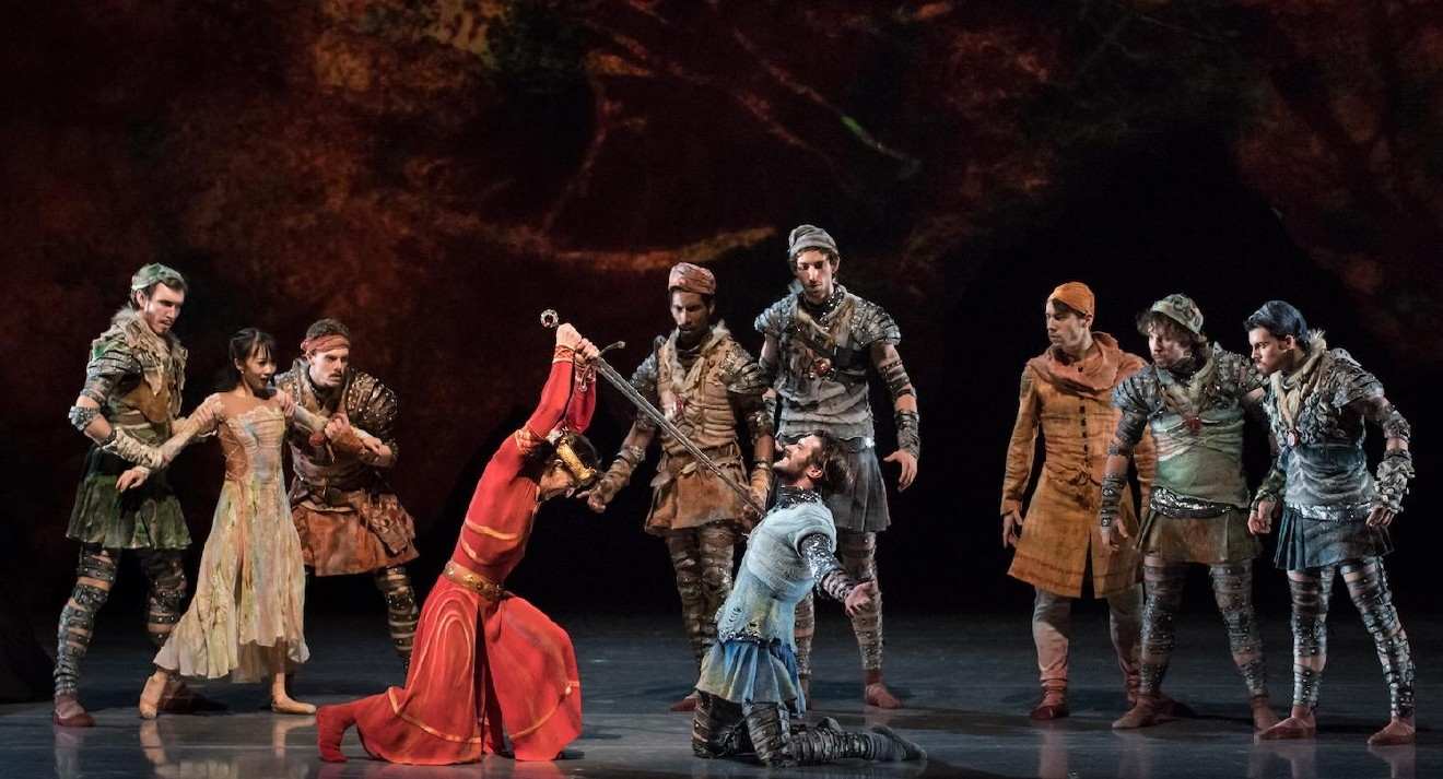 "People: Cincinnati Ballet dancers / Event: ""King Arthur's Camelot"" / Image: Peter Mueller / Published: 3.2.17"