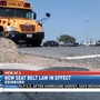Following passing of state law, Edinburg CISD purchases school buses with seat belts