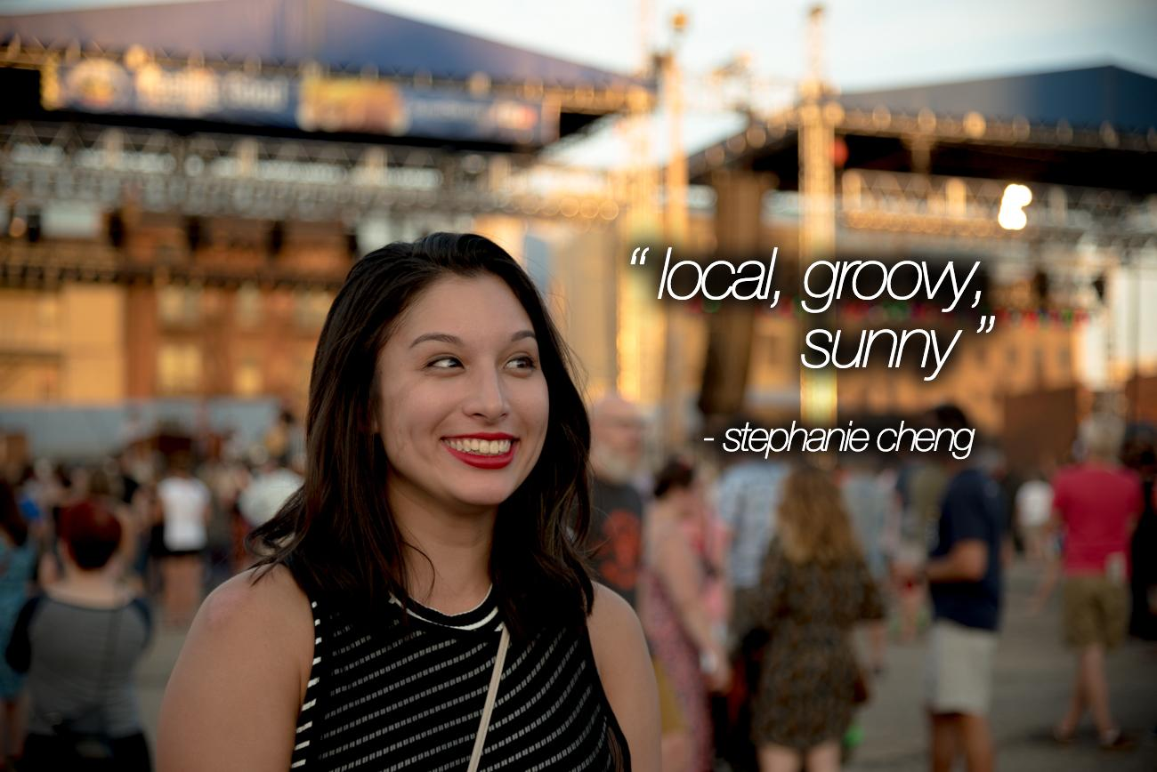 """Local, Groovy, Sunny"" - Stephanie Cheng / Image: Phil Armstrong, Cincinnati Refined"