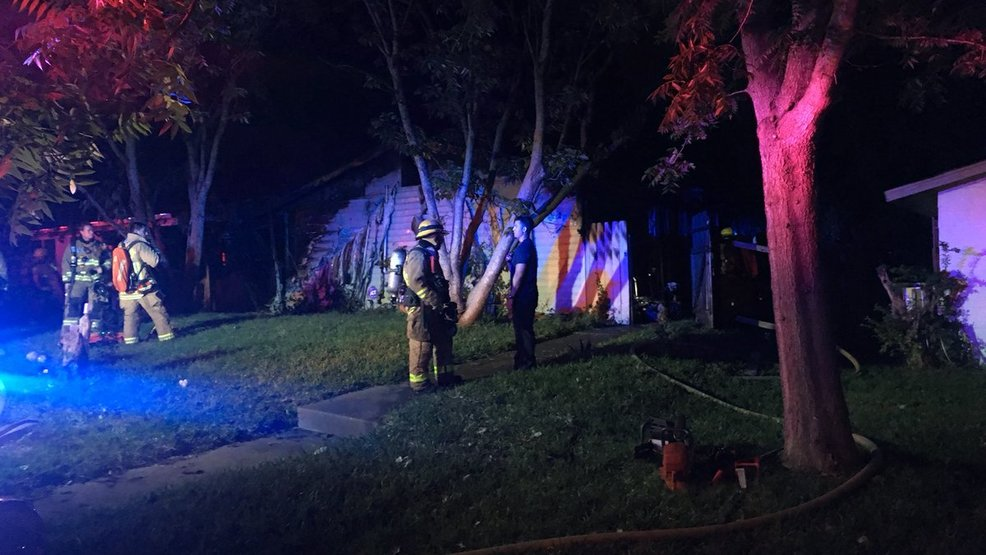 Neighbor Rescues During S Austin House Fire