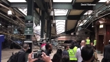 New Jersey train crashes into terminal; more than 100 people injured