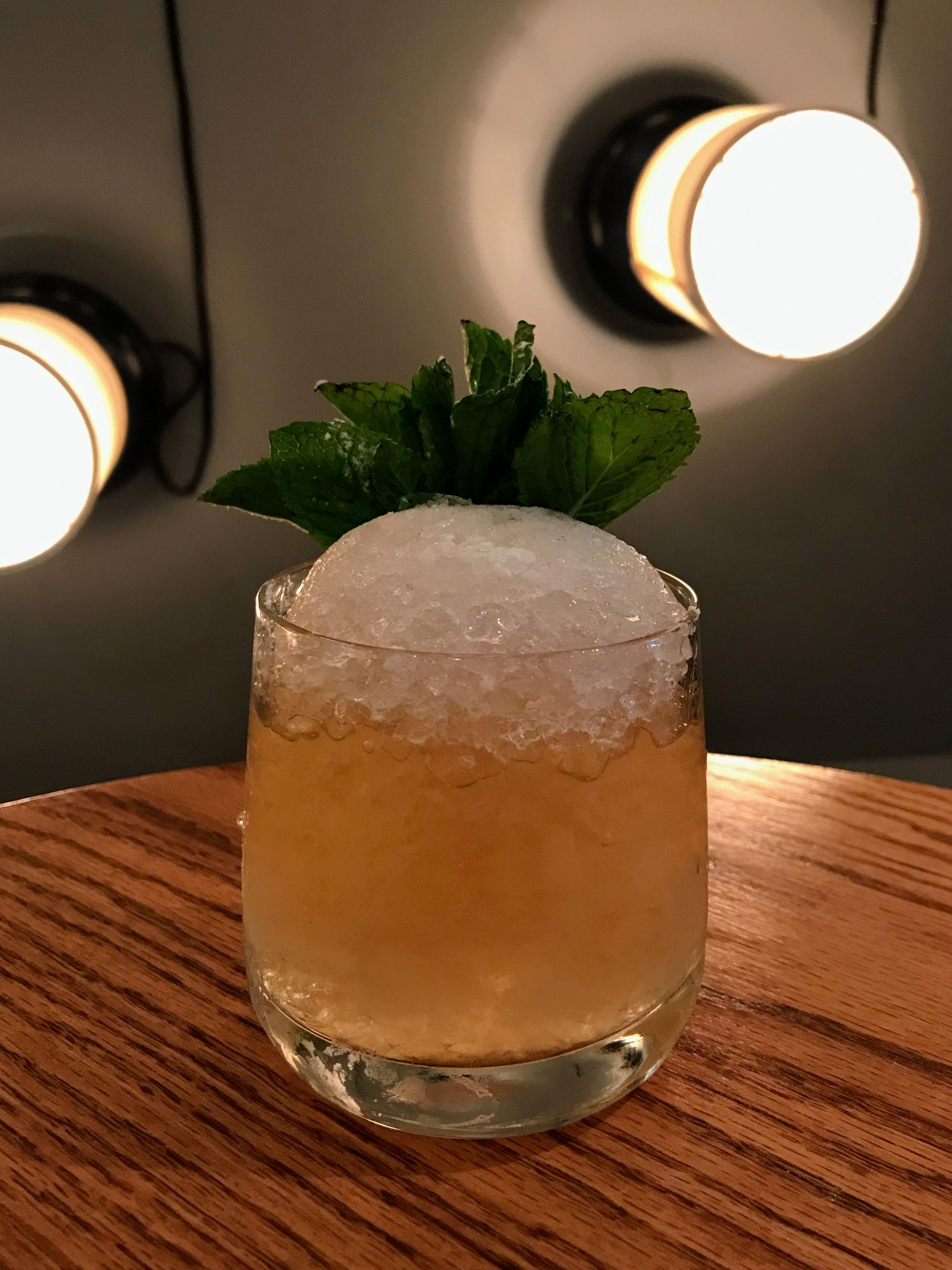 """The essence of a great mint julep is all in the spirit,"" says Mathews. ""Borough Bourbon is finished in rum casks which adds a nice flavor to a traditional julep.""{ } (Image: Courtesy Urbana)"