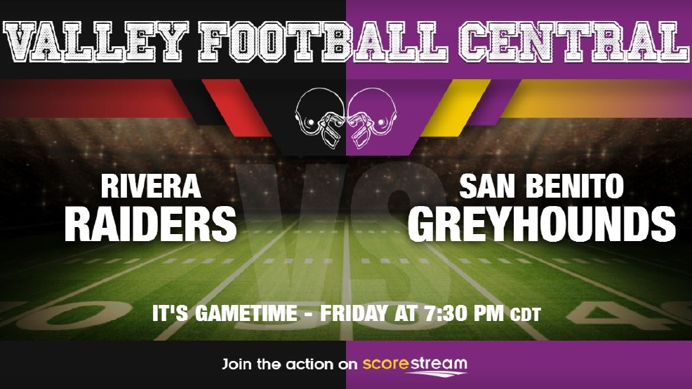 Listen Live: Brownsville Rivera Raiders vs. San Benito Greyhounds