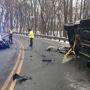 Accident on Route 9 sends two to hospital