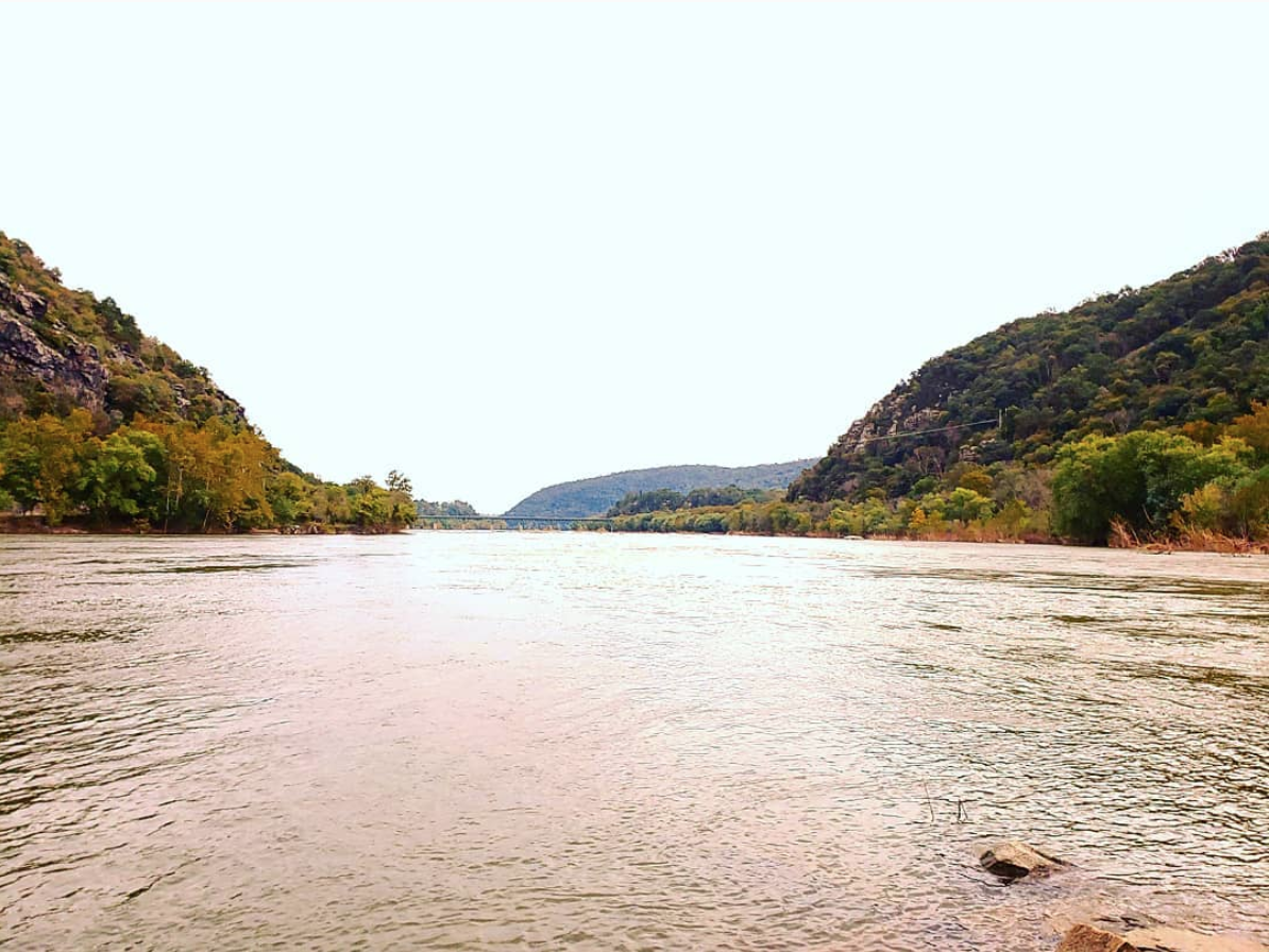 In the summer, Harpers Ferry has plenty of water recreation. (Image via @megan_cara)