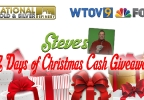 Steve's 12 Days of Christmas Cash Giveaway