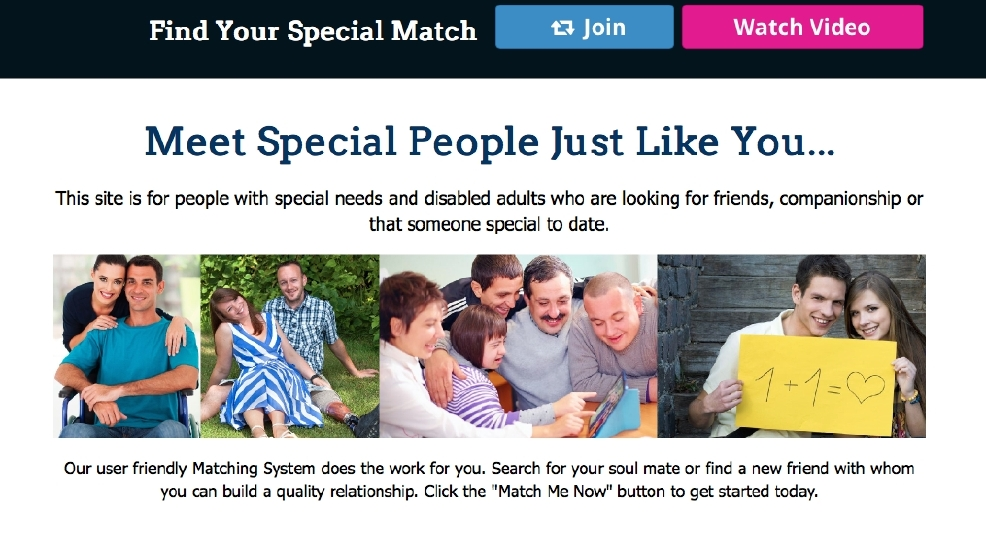 Dating sites for special needs adults