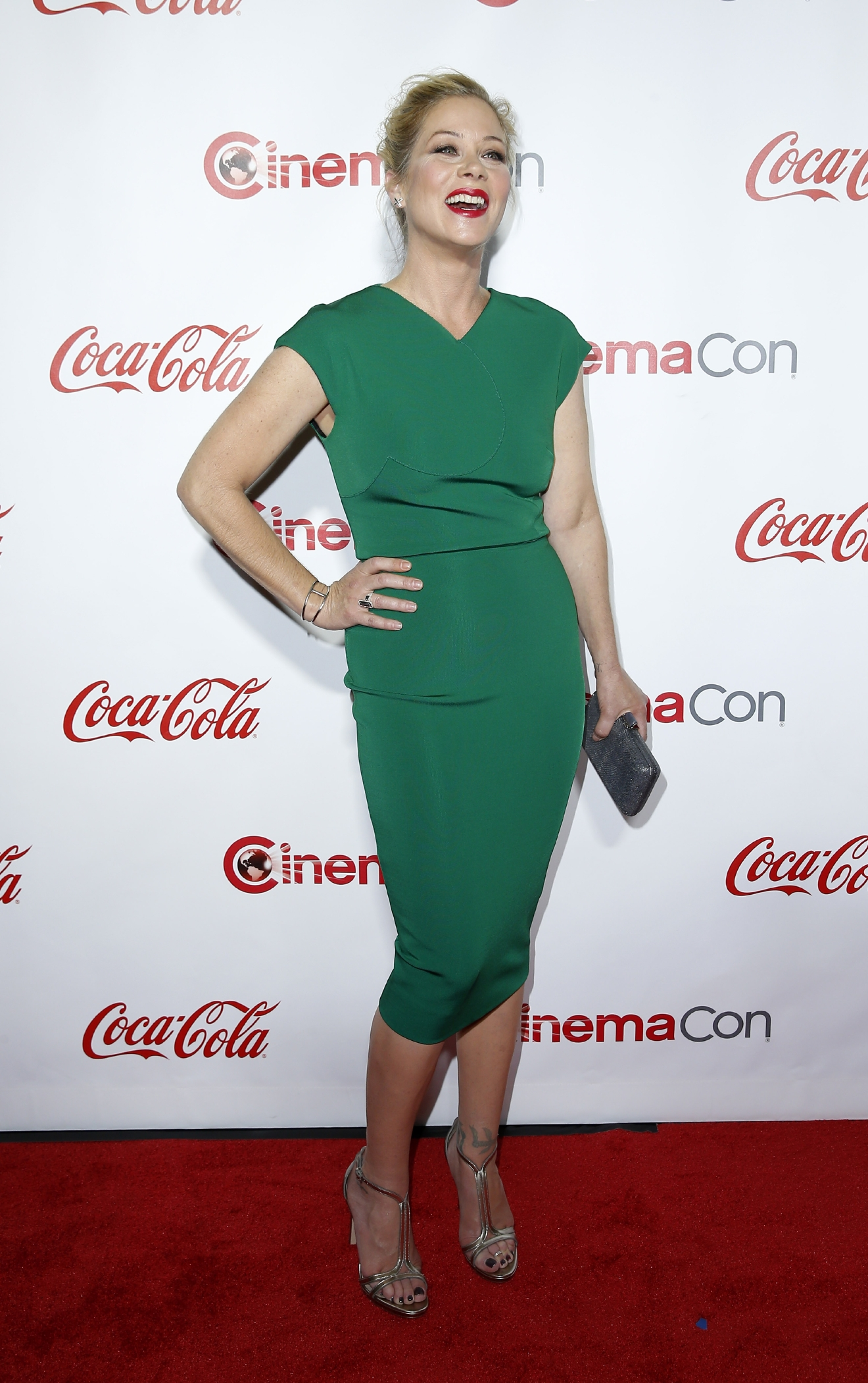 CinemaCon Big Screen Achievement Awards at Caesars Palace Resort and Casino                                    Featuring: Christina Applegate                  Where: Las Vegas, Nevada, United States                  When: 15 Apr 2016                  Credit: Judy Eddy/WENN.com