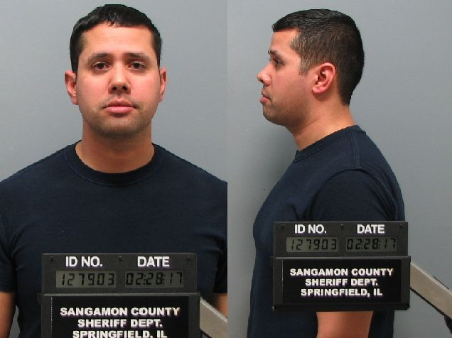 Samuel A. Rosario (Courtesy: Sangamon County Sheriff's Department)