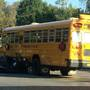 Vehicle driver sent to hospital after colliding with Central Square school bus