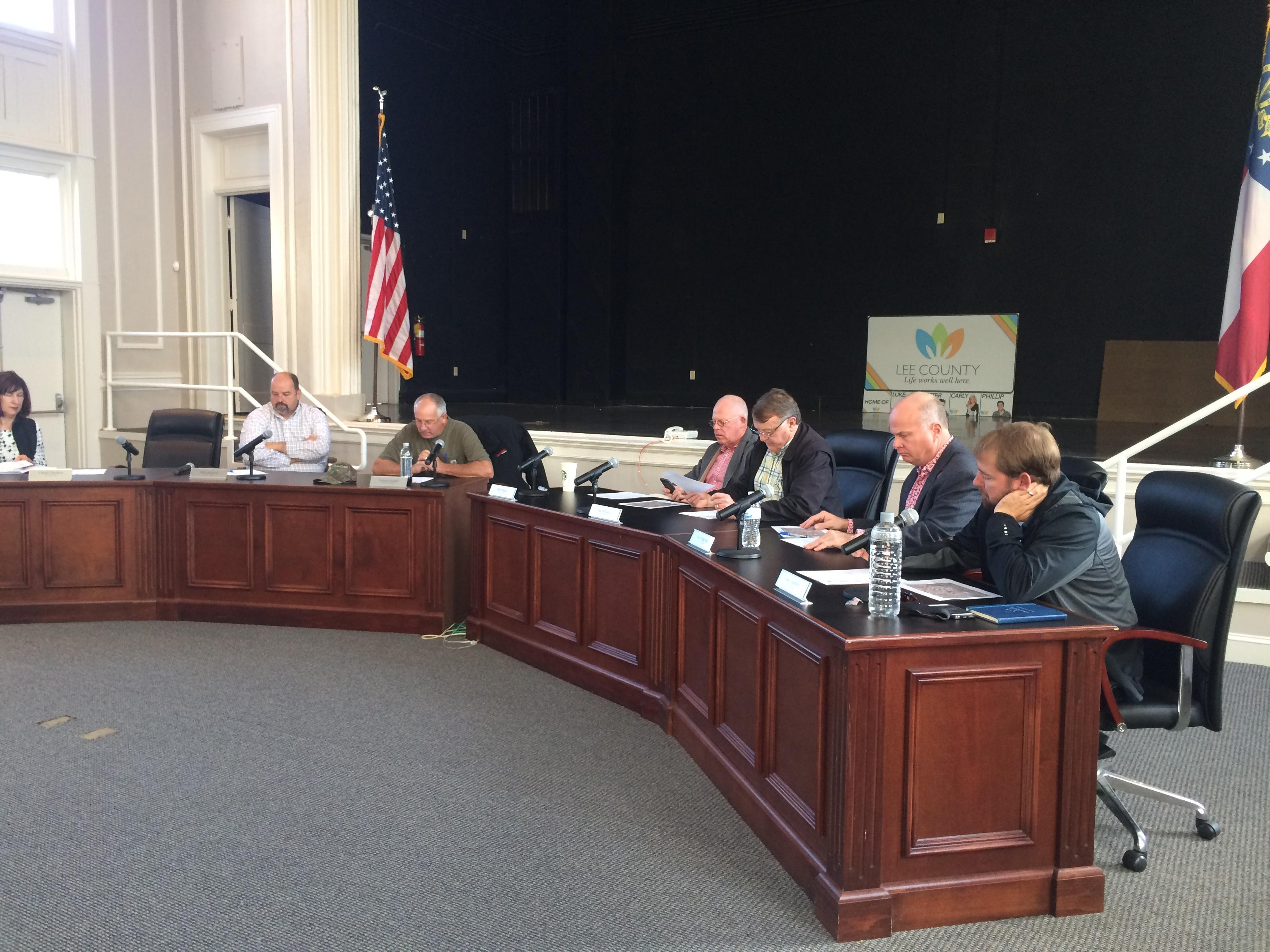 Lee County Commissioners met for a special called meeting to discuss the Lee County Medical Center and plans to move forward.<p></p><p>Photo: Kailey McCarthy</p>