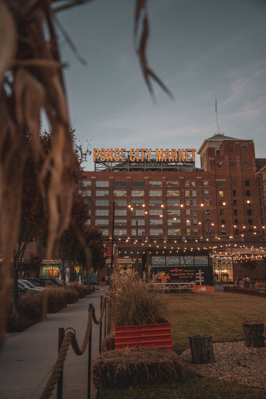 <p>Rooftop bars like 9 Mile Station at Ponce City Market offer sweeping views of the Atlanta skyline along with their selection of craft beer and cocktails. ADDRESS: 675 Ponce de Leon Avenue NE Atlanta, Georgia (30308) / Image: Ronny Sison via Unsplash // Published: 4.3.19</p>