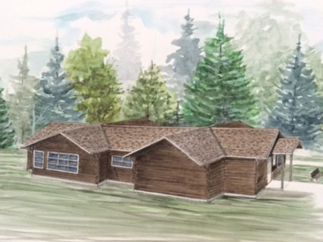 White Cedar Nature Center proposed expansion drawing courtesy of David Hackett, March 1, 2018 (WLUK)