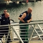 Wanted man arrested after deputies, officers swim after him in Snake River
