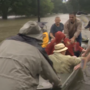 Senior citizens saved from Harvey flooding in Beaumont, Texas