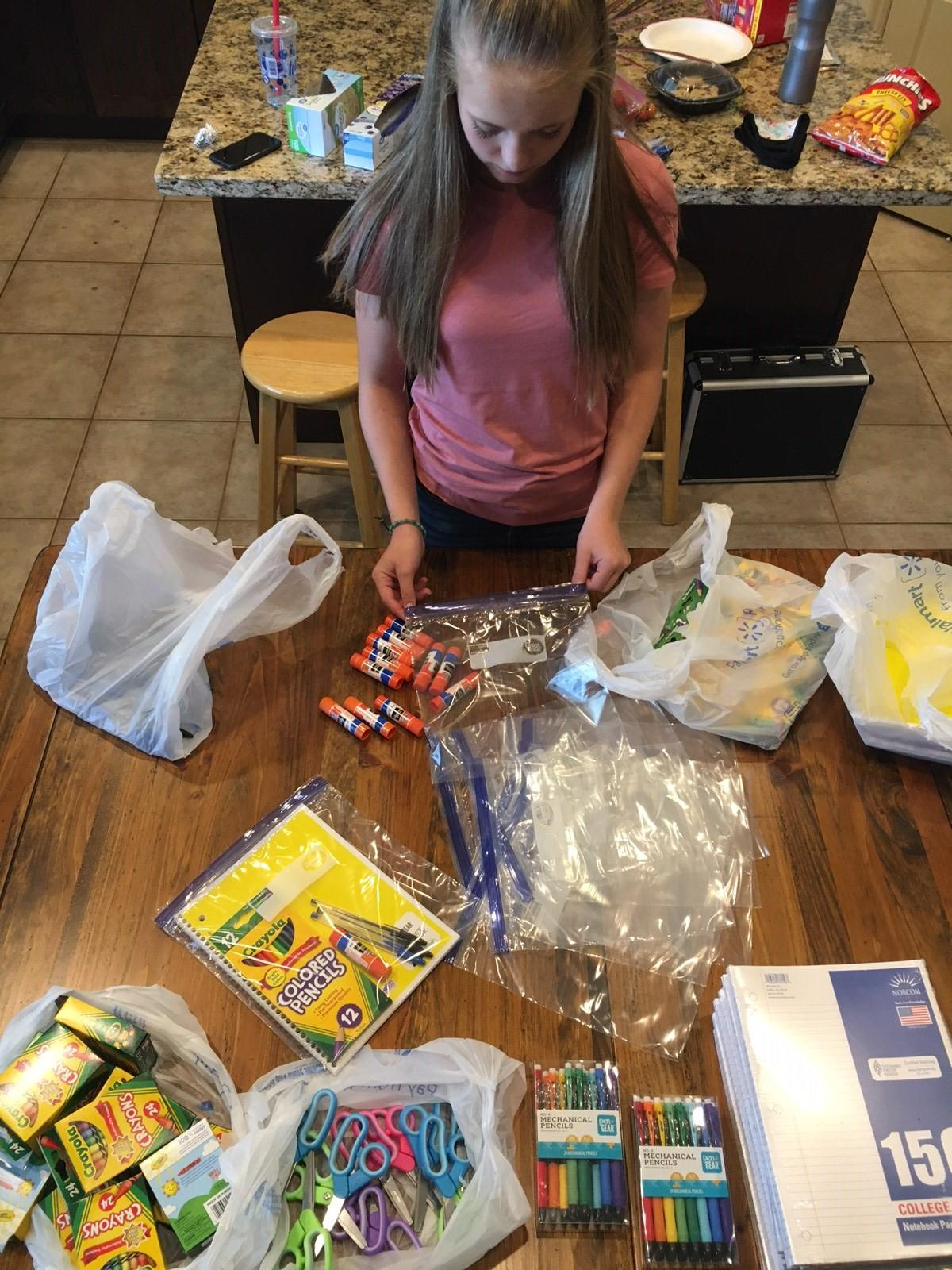 Pay it Forward: Utah nurse helps kids in need get back-to-school supplies (Photo courtesy Jennifer McCullough)