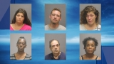Six arrested in sex sting