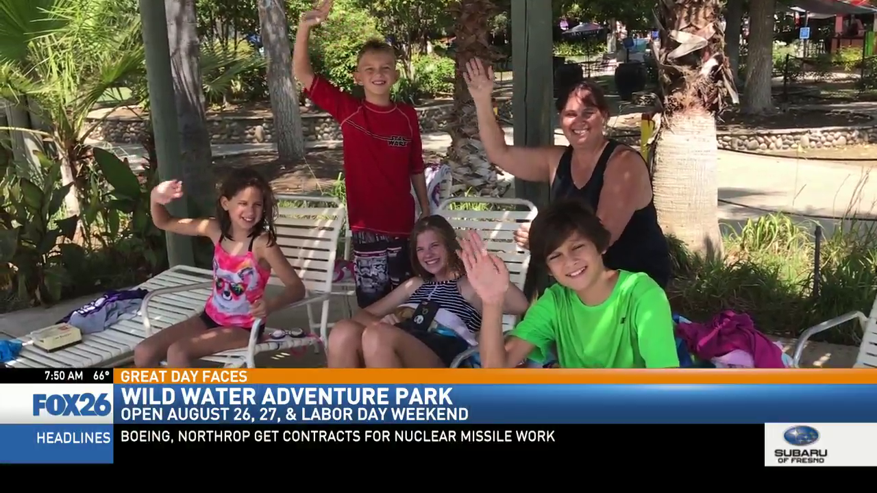Wild Water Adventure Park will be open this weekend and Labor Day Weekend