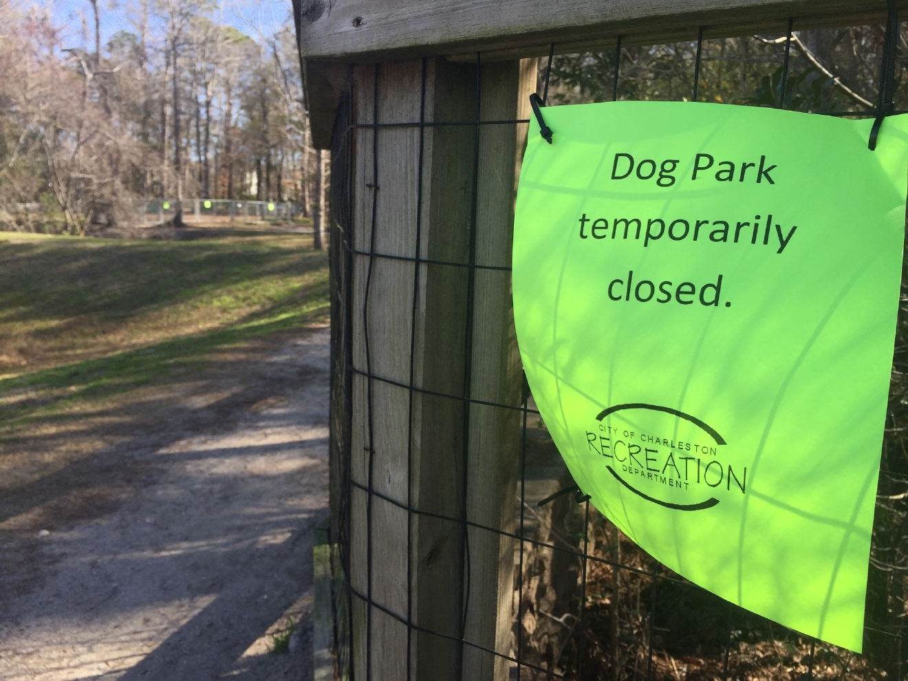 City officials say the dog park was tested for toxins and after results coming back clean, the park is expected to be open Tuesday. (WCIV)