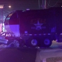 Driver dies after crashing into garbage truck in North Austin