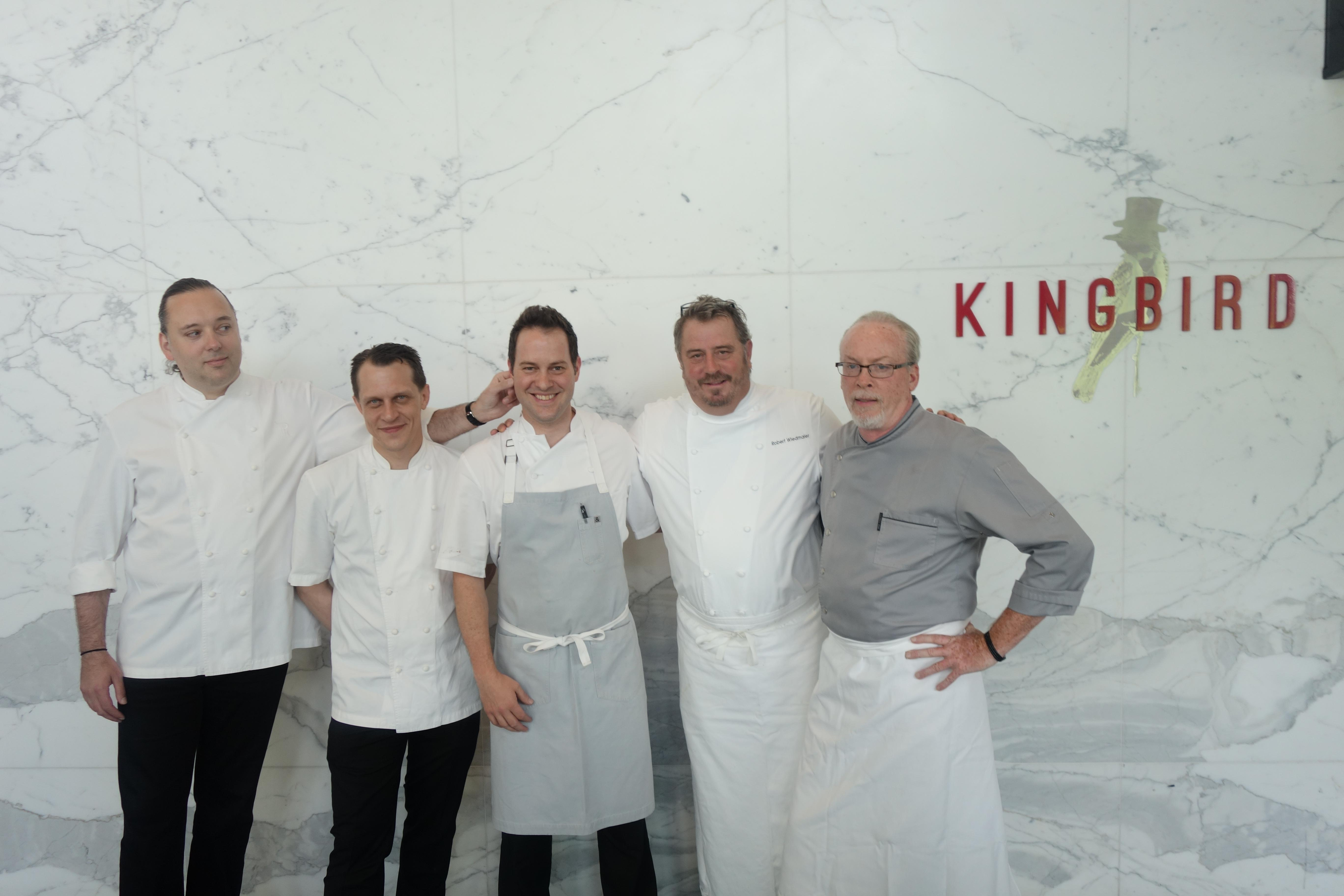 The chefs included Chef Paul Liebrandt, Chef Michael Laiskonis, the hotel's own Executive Chef Michael Santoro, Chef Robert Wiedmaier and Chef Brian McBride. (Image: Courtesy The Watergate Hotel)