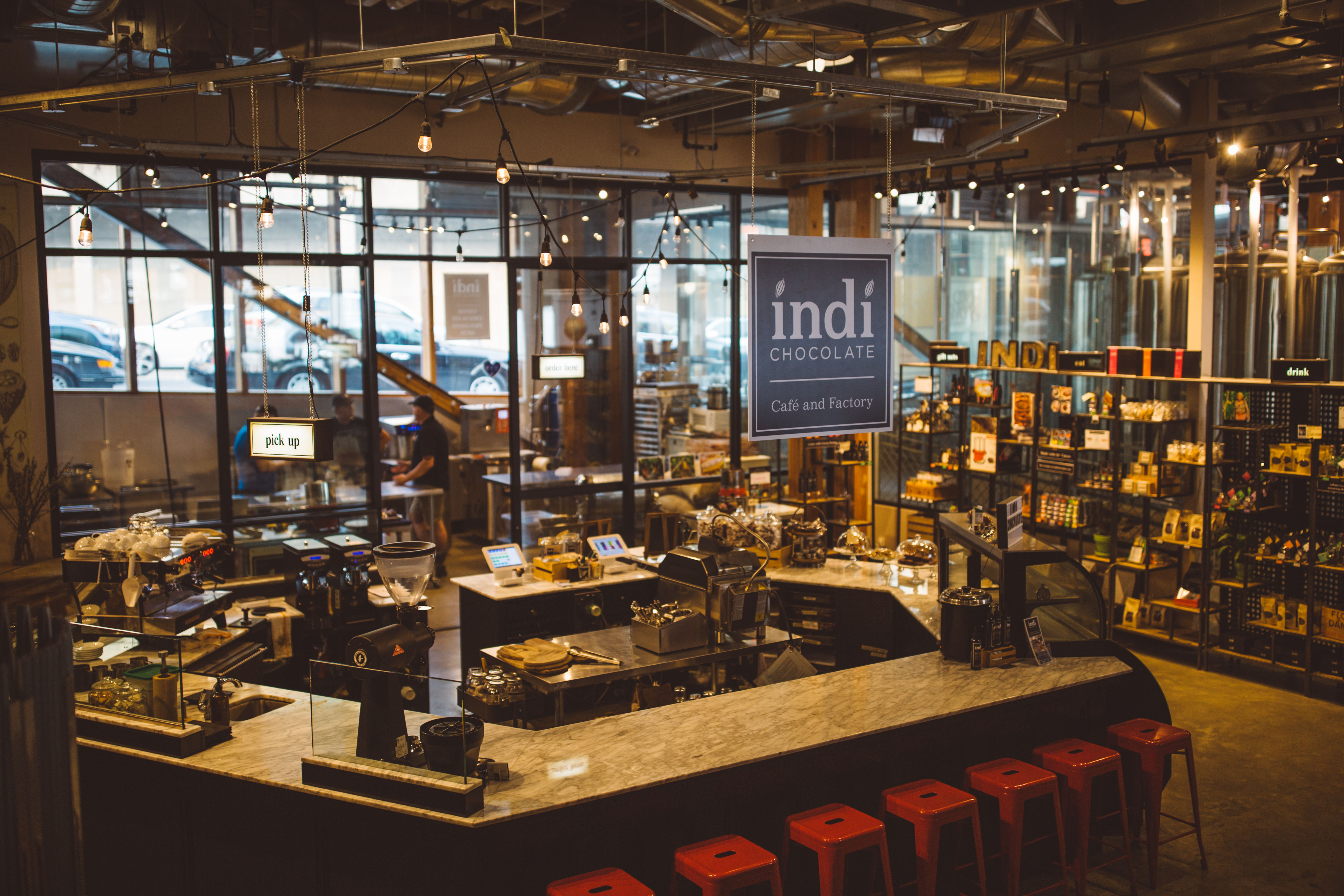 Who doesn't love chocolate? Here at Seattle Refined, we sure do! So naturally, when we were given the opportunity to head to Indi Chocolate to see exactly how it's made from bean to bar, we couldn't pass it up! (Image: Ryan McBoyle / Seattle Refined)