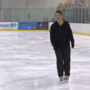 Former champion rediscovers love for ice skating through coaching Learn-To-Skate class