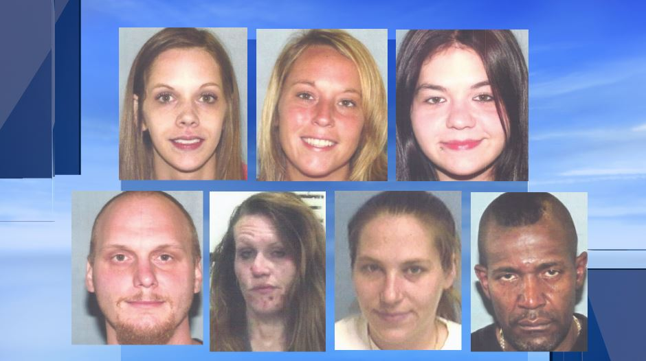Seven arrested in Steubenville drug bust..JPG
