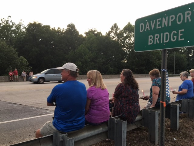 A vigil is planned in Henderson County to support Tommy Bryson's family. Bryson's body was discovered in Arden on Sunday. (Photo credit: WLOS staff)